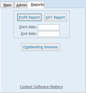 Reports tab from Accounts Guardian