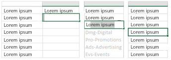 Microsoft Excel 2013 flash fill
