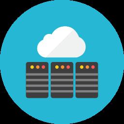 Web cloud icon