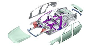 Breakdown of car components